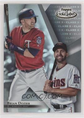 2018 Topps Gold Label - [Base] - Class 3 #61 - Brian Dozier