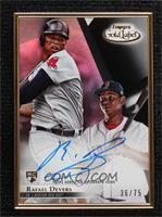 Rafael Devers [Noted] #/75