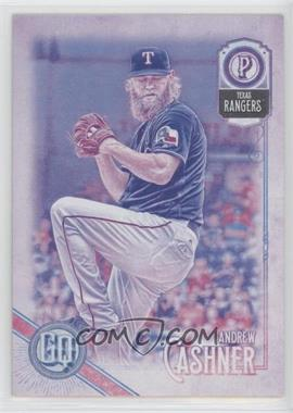 2018 Topps Gypsy Queen - [Base] - Missing Blackplate #5 - Andrew Cashner