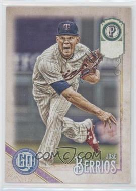 2018 Topps Gypsy Queen - [Base] - Missing Nameplate #88 - Jose Berrios