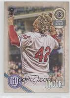 Jackie Robinson Day Variation - Francisco Lindor