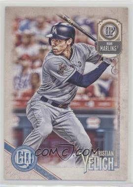 2018 Topps Gypsy Queen - [Base] #68 - Christian Yelich