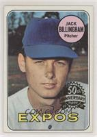 Jack Billingham (50th Anniversary Logo on Right)