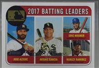 League Leaders - Jose Altuve, Eric Hosmer, Hanley Ramirez, Avisail Garcia /25