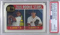 Rookie Stars - Kyle Martin, Rafael Devers [PSA 10 GEM MT] #/25