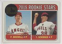 Rookie Stars - Parker Bridwell, Troy Scribner #/25