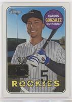 High Number SP - Carlos Gonzalez #/25