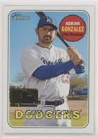 High Number SP - Adrian Gonzalez #/25