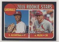 Rookie Stars - Alex Mejia, Sandy Alcantara #/50