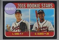 Rookie Stars - Ozzie Albies, Lucas Sims /50