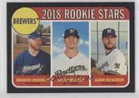Rookie Stars - Brandon Woodruff, Aaron Wilkerson, Taylor Williams #/50