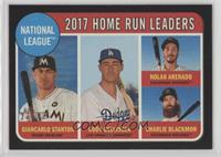 League Leaders - Charlie Blackmon, Nolan Arenado, Cody Bellinger /50