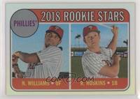 Rookie Stars - Nick Williams, Rhys Hoskins #/569