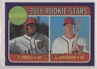 Rookie Stars - Andrew Stevenson, Victor Robles