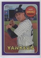 Gary Sanchez