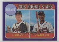 Rookie Stars - Ozzie Albies, Lucas Sims