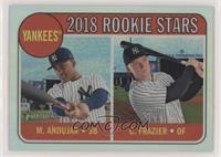 Rookie Stars - Miguel Andujar, Clint Frazier #/569