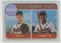 Rookie Stars - Ozzie Albies, Lucas Sims /569