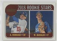 Rookie Stars - Walker Buehler, Alex Verdugo #118/999