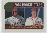 Rookie Stars - Andrew Stevenson, Victor Robles /999