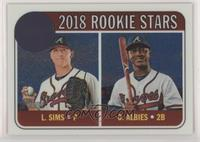 Rookie Stars - Ozzie Albies, Lucas Sims #/999