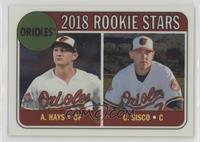 Rookie Stars - Chance Sisco, Austin Hays #/999