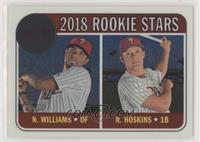 Rookie Stars - Nick Williams, Rhys Hoskins #/999