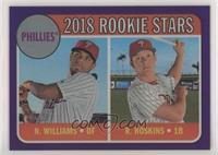 Rookie Stars - Nick Williams, Rhys Hoskins