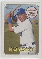 Salvador Perez (Batting Pose)