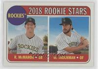 Rookie Stars - Mike Tauchman, Ryan McMahon