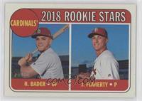 Rookie Stars - Harrison Bader, Jack Flaherty