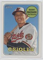 Manny Machado (Posing with Bat)