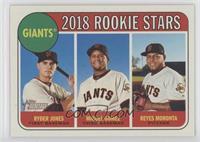 Rookie Stars - Ryder Jones, Reyes Moronta, Miguel Gomez