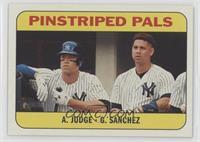 Rookie Stars - Gary Sanchez, Aaron Judge