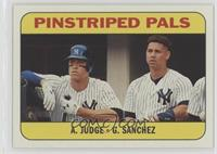 Rookie Stars - Gary Sanchez, Aaron Judge
