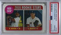 Rookie Stars - Kyle Martin, Rafael Devers [PSA 10 GEM MT]