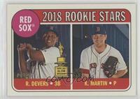 Rookie Stars - Kyle Martin, Rafael Devers