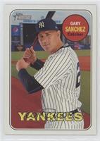 Gary Sanchez (Posing with Bat)