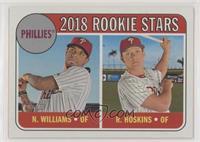 Rookie Stars - Rhys Hoskins, Nick Williams