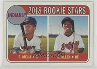 Rookie Stars - Francisco Mejia, Greg Allen