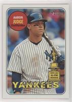 Aaron Judge (Bat on Shoulder)