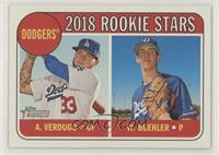 Rookie Stars - Walker Buehler, Alex Verdugo