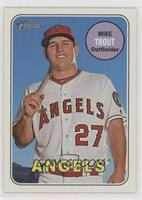 Mike Trout (Posing with Bat)