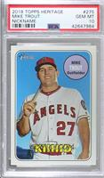 Nickname Variation - Mike Trout (Kiiiiid) [PSA 10 GEM MT]