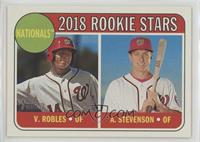 Rookie Stars - Victor Robles, Andrew Stevenson
