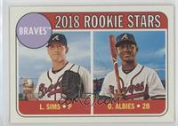 Rookie Stars - Ozzie Albies, Lucas Sims