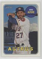 Jose Altuve (Batting Pose)