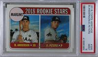 Rookie Stars - Dillon Peters, Brian Anderson [PSA9MINT]