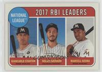 League Leaders - Nolan Arenado, Giancarlo Stanton, Marcell Ozuna