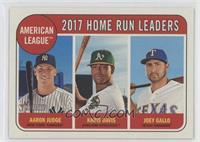 League Leaders - Aaron Judge, Joey Gallo, Khris Davis